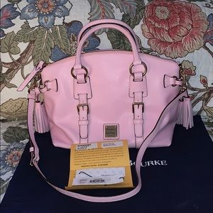 Dooney & Bourke Saffiano Domed Satchel